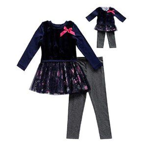NEW Dollie & Me Girls' Matching Doll Tunic Outfits